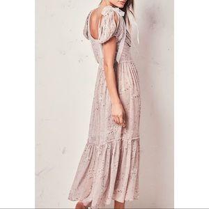 NWT Loveshackfancy Angie Dress in Woodrose
